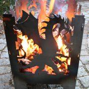 Vuurkorf Draak sfeerfoto