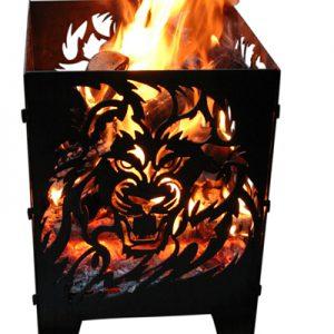 Vuurkorf Leeuw