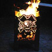 Vuurkorf Piraat sfeerfoto