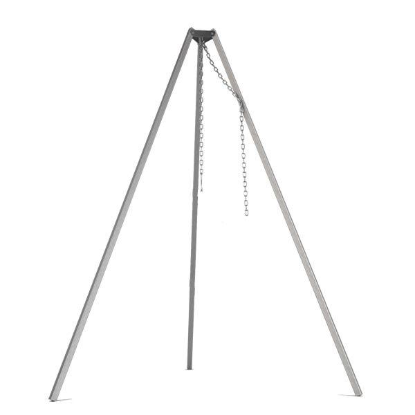driepoot edelstaal 160cm