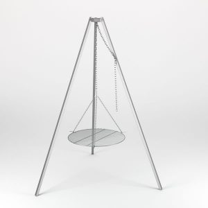 driepoot edelstaal set 79cm