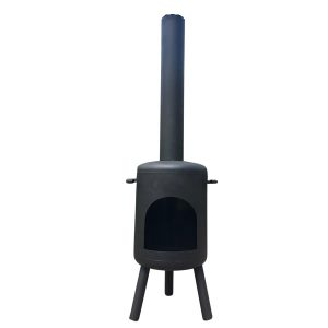Tuinhaard-Classic-RVS-zwart-RVS006Z