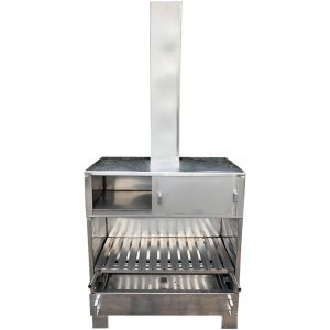 Tuinhaard-Pizzaoven-BBQ-RVS-RVS004