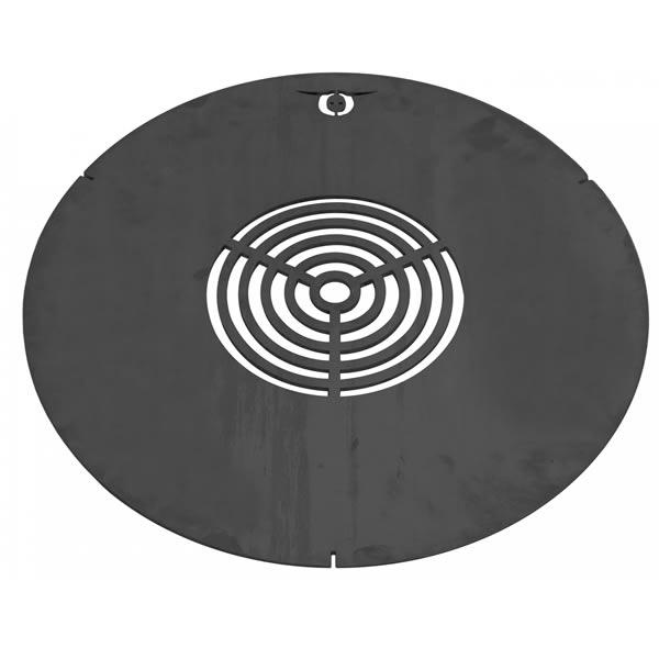 BarrelQ barbecue grillplaat 50cm