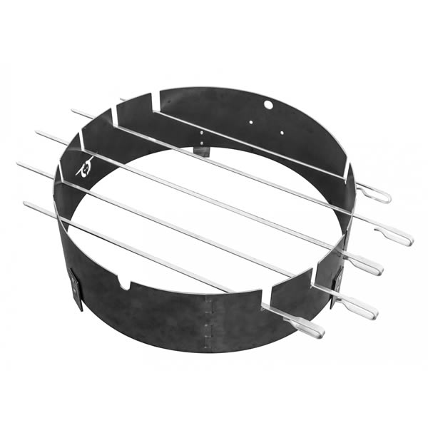 BarrelQ barbecue shaslickring-20-x-50-cm-staal