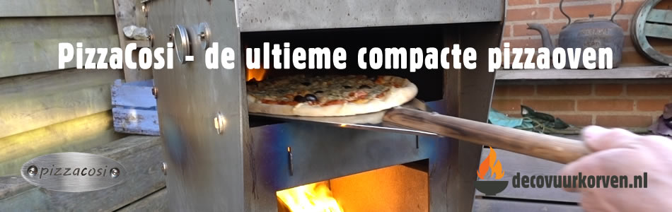 PizzaCosi - de ultieme compacte pizzaoven
