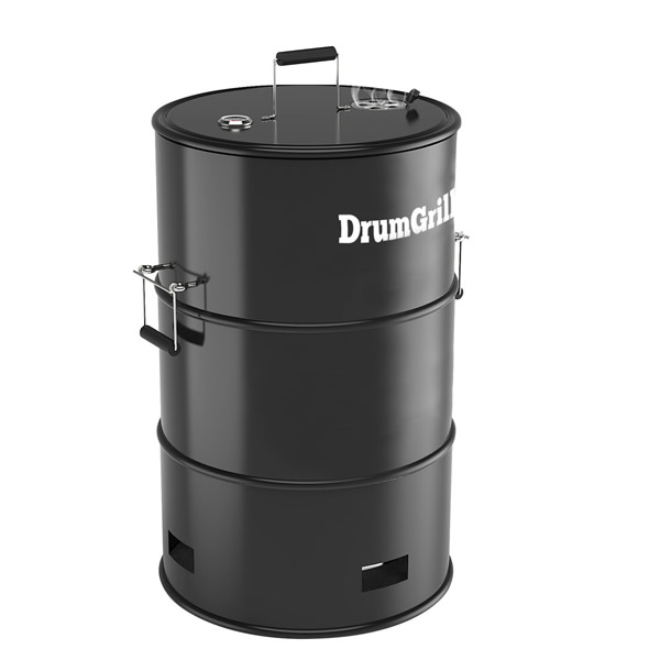 Barbecue Drumgrill Smoker (houtskool)
