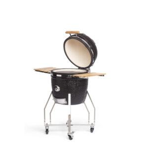Kamado Grill Large met onderstel en zijtafel