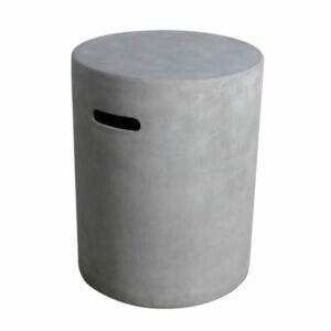 Gasfles cover betonlook grijs