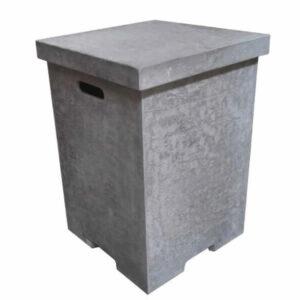 Gasfles cover betonlook