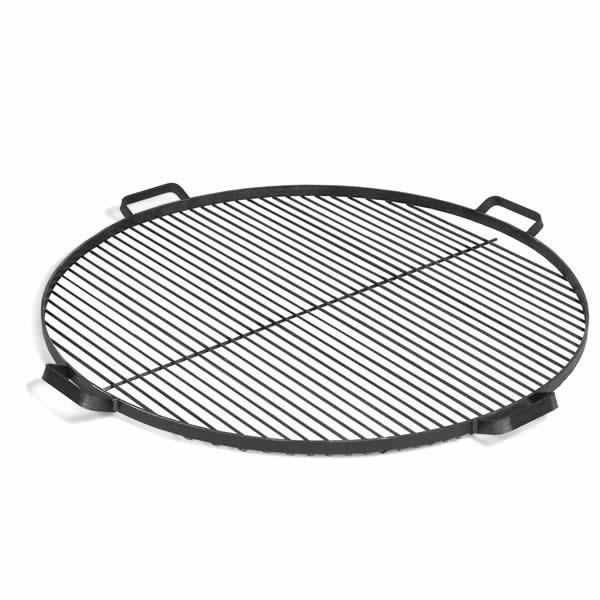 Grillrooster rond met handvatten staal (60 cm)