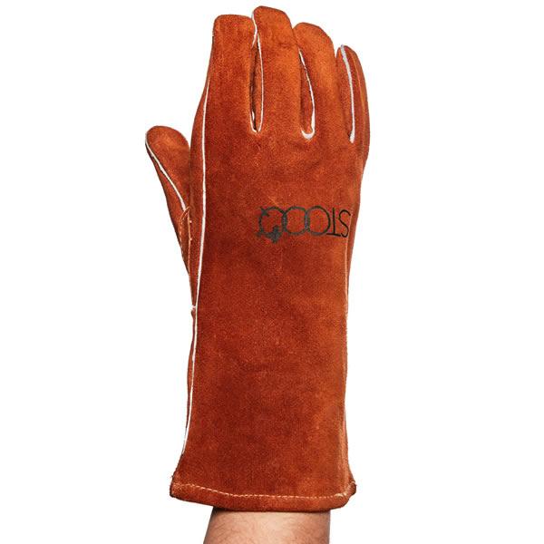 Lederen handschoen Glovs