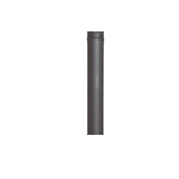 Tuinhaard Rookkanaal Decodesign 50cm RVS zwart